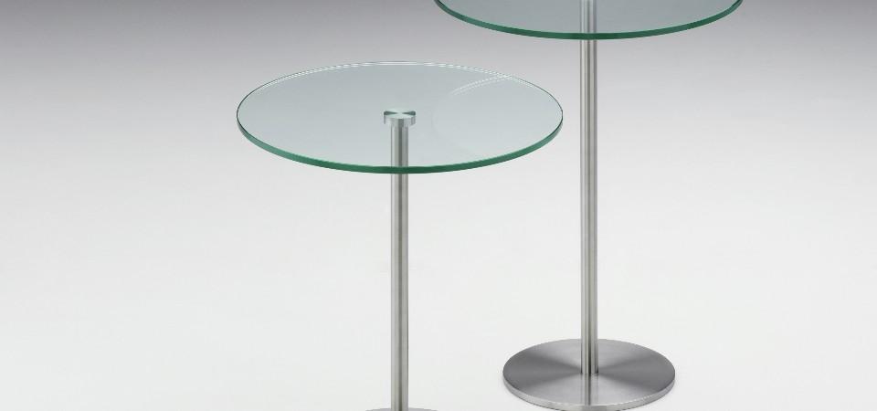 Beistelltische Aus Glas Metall Holz